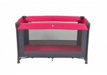 Topmark Logeerbed/Campingbed Charlie (120 x 60 cm) roze