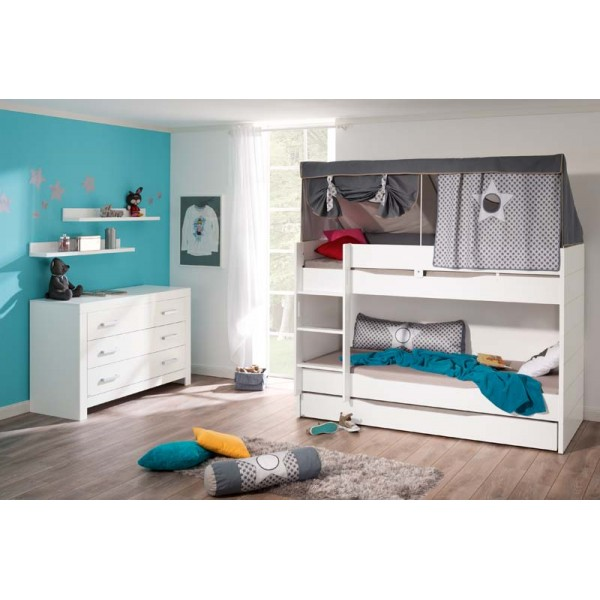 paidi fiona stapelbed bij babyland. Black Bedroom Furniture Sets. Home Design Ideas
