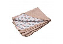 Lodger Baby Dreamer Quilt 75x100 cm nude