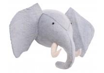 Kidsdepot Zoo elephant blauw