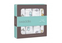 Aden Anais Swaddle 4 pack Jungle Jam