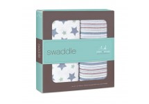 Aden Anais Swaddle 2 Pack Prince Charming