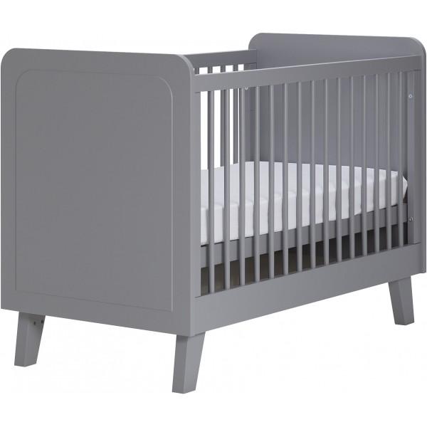 Coming kids scandi ledikant grijs bij babyland for Ledikant grijs