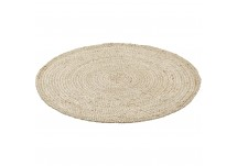 Kidsdepot Jute Kleed rond naturel