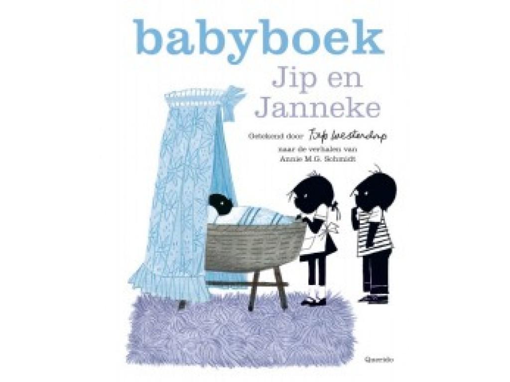 Ikkemikke Jip en Janneke Babyboek 'blauw