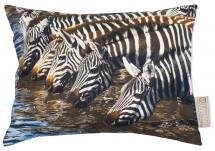 Stapelgoed Kussen zebra