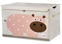 3 Sprouts Toy Chest Hippo Toy Chest 3 Sprout