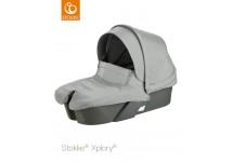 Stokke® Xplory® Reiswieg+Textiel set grey melange