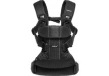 BabyBjorn Draagzak One Air Black mesh