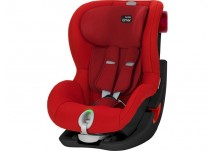 Britax Römer King II LS Black Series flame red