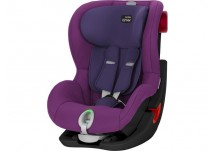Britax Römer King II LS Black Series mineral purple