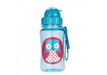 Skip Hop Zoo Drinkbeker met rietje Skip Hop Zoo Straw Bottle Owl