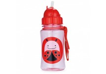 Skip Hop Zoo Drinkbeker met rietje  Skip Hop Zoo Straw Bottle Ladybug