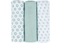 Lässig Swaddle & Burp Blanket L