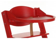 Treppy Playtray Eetblad Rood