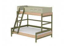 Flexa Popsicle Familiebed Ladder Kiwi