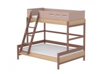 Flexa Popsicle Familiebed Ladder Cherry
