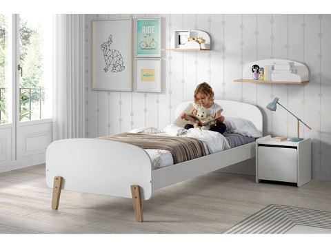 Vipack Kiddy Uitvalbeveiliging Satin White