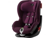 Britax Römer King II LS - Burgundy Red