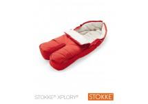 Stokke® Xplory Voetenzak red