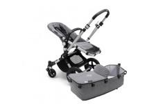 Bugaboo Cameleon3 Plus Basis Kinderwagen Aluminium - Grey Melange