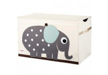 3 Sprouts Speelgoedbox - Olifant