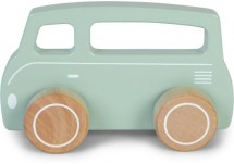 Little Dutch Houten Bus Mint