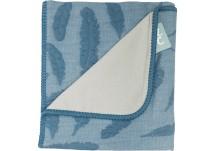 Baby Anne-Cy Wiegdeken Veren - Jeans Blue