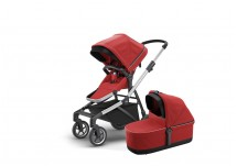 Thule Sleek Kinderwagen Complete Set - Energy Red
