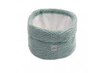 Jollein Mandje River Knit - Ash Green