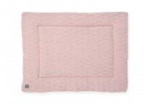 Jollein Boxkleed River Knit 80x100 - Pale Pink