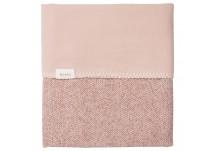 Koeka Wiegdeken Vigo Flanel - Old Pink