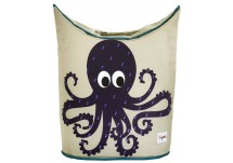 3 Sprouts Octopus Laundry Hamper